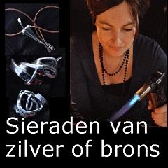 Zilveren of bronzen sieraden maken bedrijfsuitje