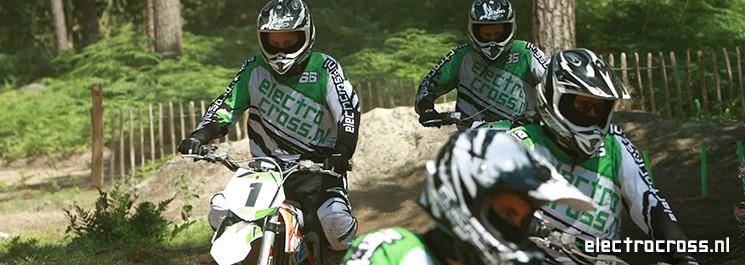 Elektrisch motorcrossen bedrijfsuitje